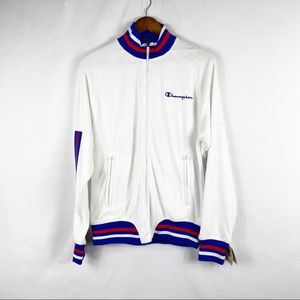 CHAMPION Terry Warm Up Jacket NWT in Size Small